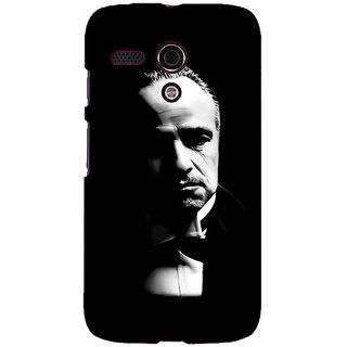 EYP The Godfather Back Cover Case For Moto G (1st Gen) 130348