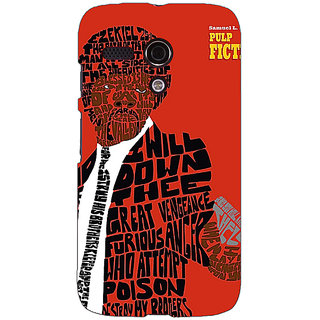 EYP Pulp Fiction Back Cover Case For Moto G (1st Gen) 130354
