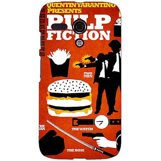 EYP Pulp Fiction Back Cover Case For Moto G (1st Gen) 130355
