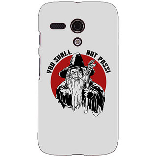 EYP LOTR Hobbit Gandalf Back Cover Case For Moto G (1st Gen) 130361