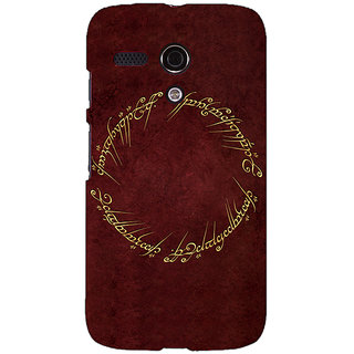 EYP LOTR Hobbit  Back Cover Case For Moto G (1st Gen) 130369