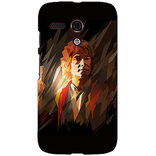 EYP LOTR Hobbit  Back Cover Case For Moto G (1st Gen) 130370