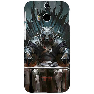 EYP Game Of Thrones GOT Iron Throne King Of The North Back Cover Case For HTC One M8 Eye 331533