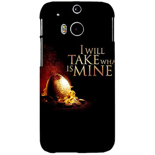EYP Game Of Thrones GOT Khaleesi Daenerys Targaryen Back Cover Case For HTC One M8 Eye 331543
