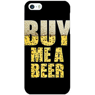 EYP Beer Quote Back Cover Case For Apple iPhone 5 21224