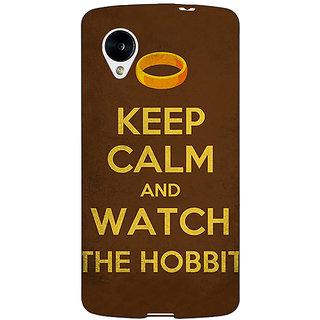 EYP LOTR Hobbit  Back Cover Case For Google Nexus 5 40376