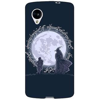 EYP LOTR Hobbit  Back Cover Case For Google Nexus 5 40378