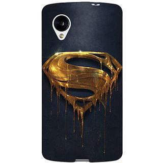 EYP Superheroes Superman Back Cover Case For Google Nexus 5 40391