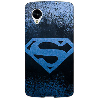 EYP Superheroes Superman Back Cover Case For Google Nexus 5 40393