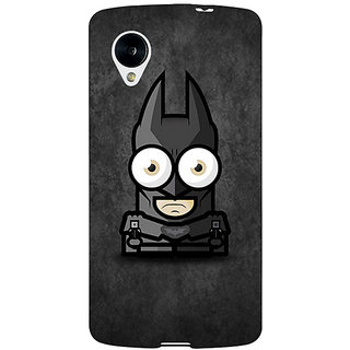 EYP Big Eyed Superheroes Batman Back Cover Case For Google Nexus 5 40395