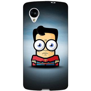 EYP Big Eyed Superheroes Superman Back Cover Case For Google Nexus 5 40397