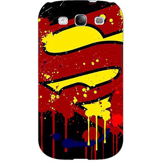 EYP Superheroes Superman Back Cover Case For Samsung Galaxy S3 Neo 340034