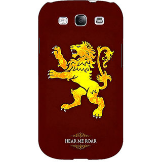 EYP Game Of Thrones GOT House Lannister  Back Cover Case For Samsung Galaxy S3 Neo 340162