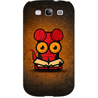 EYP Big Eyed Superheroes Hell Boy Back Cover Case For Samsung Galaxy S3 Neo 340400