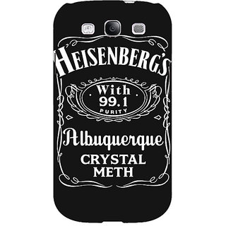 EYP Breaking Bad Heisenberg Back Cover Case For Samsung Galaxy S3 Neo 340402