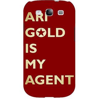 EYP Entourage Ari Gold Back Cover Case For Samsung Galaxy S3 Neo 340436