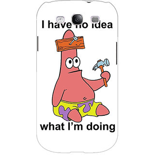 EYP Spongebob Patrick Back Cover Case For Samsung Galaxy S3 Neo 340474