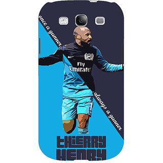 EYP Arsenal Therry Henry Back Cover Case For Samsung Galaxy S3 Neo 340505