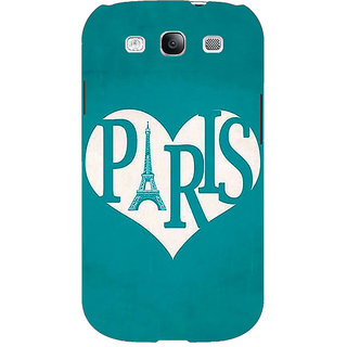 EYP Paris love Back Cover Case For Samsung Galaxy S3 Neo 341404