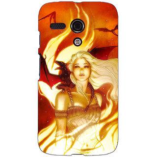 EYP Game Of Thrones GOT House Targaryen  Back Cover Case For Moto G (1st Gen) 130146