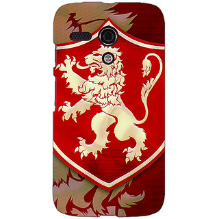 EYP Game Of Thrones GOT House Lannister  Back Cover Case For Moto G (1st Gen) 130161