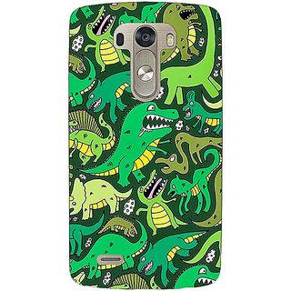 EYP Dinosaurs Pattern Back Cover Case For Lg G3 D855 221383