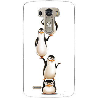 EYP Penguins Madagascar Back Cover Case For Lg G3 D855 221385