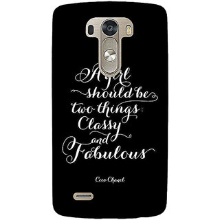 EYP Quote Back Cover Case For Lg G3 D855 221409