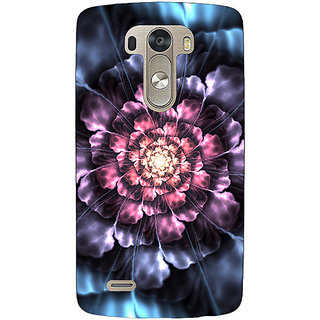 EYP Abstract Flower Pattern Back Cover Case For Lg G3 D855 221514