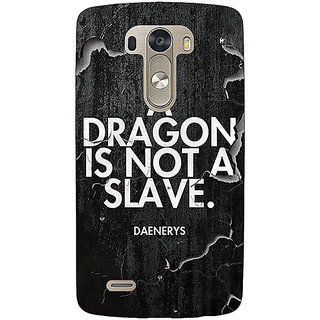 EYP Game Of Thrones GOT Targaryen Dragon Quote Back Cover Case For Lg G3 D855 221528