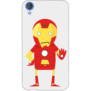 EYP Superheroes Iron Man Back Cover Case For HTC Desire 820Q 290329