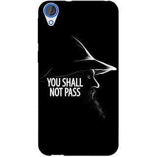 EYP LOTR Hobbit Gandalf Back Cover Case For HTC Desire 820Q 290359