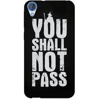 EYP LOTR Hobbit Gandalf Back Cover Case For HTC Desire 820Q 290362