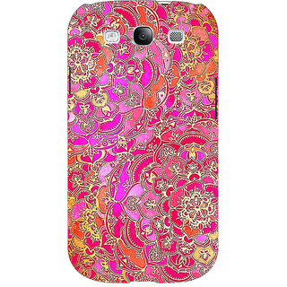 EYP Hot Floral  Pattern Back Cover Case For Samsung Galaxy S3 Neo 340241