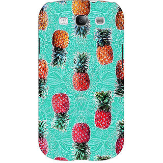 EYP Pineapple Pattern Back Cover Case For Samsung Galaxy S3 Neo 340246