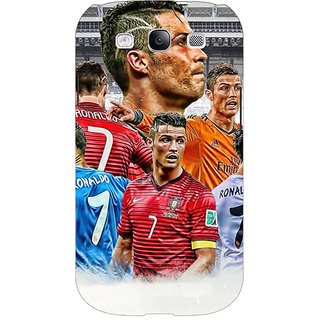 EYP Cristiano Ronaldo Real Madrid Back Cover Case For Samsung Galaxy S3 Neo 340310