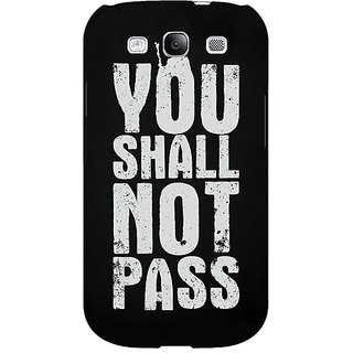 EYP LOTR Hobbit Gandalf Back Cover Case For Samsung Galaxy S3 Neo 340362