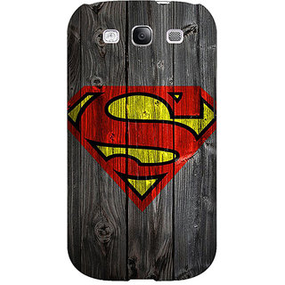 EYP Superheroes Superman Back Cover Case For Samsung Galaxy S3 Neo 340384