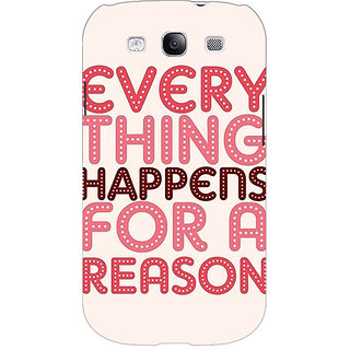 EYP Good Quote Back Cover Case For Samsung Galaxy S3 Neo 341201