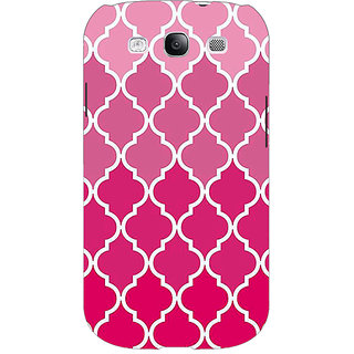 EYP Morocco Pattern Back Cover Case For Samsung Galaxy S3 Neo 341439