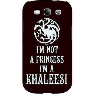 EYP Game Of Thrones GOT Princess Khaleesi Back Cover Case For Samsung Galaxy S3 Neo 341537