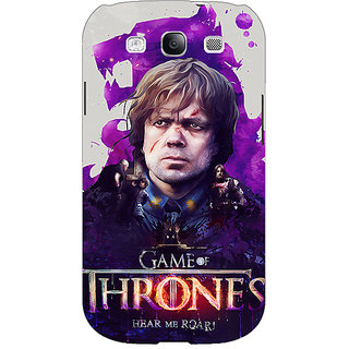EYP Game Of Thrones GOT House Lannister Tyrion Back Cover Case For Samsung Galaxy S3 Neo 341546