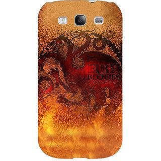 EYP Game Of Thrones GOT House Targaryen Back Cover Case For Samsung Galaxy S3 Neo 341550