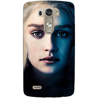 EYP Game Of Thrones GOT Khaleesi Daenerys Targaryen Back Cover Case For Lg G3 D855 221551