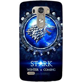 EYP Game Of Thrones GOT House Stark Back Cover Case For Lg G3 D855 221555