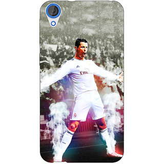 EYP Cristiano Ronaldo Real Madrid Back Cover Case For HTC Desire 820Q 290305