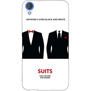 EYP SUITS Harvey Spector Mike Ross Back Cover Case For HTC Desire 820Q 290490