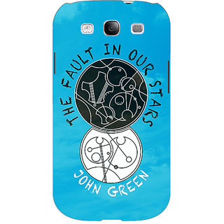 EYP TFIOS World  Back Cover Case For Samsung Galaxy S3 Neo GT- I9300I 350114