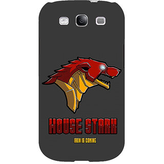 EYP Game Of Thrones GOT House Stark  Back Cover Case For Samsung Galaxy S3 Neo GT- I9300I 350126