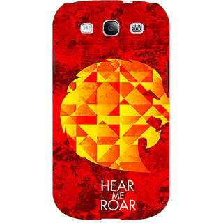 EYP Game Of Thrones GOT House Lannister  Back Cover Case For Samsung Galaxy S3 Neo GT- I9300I 350159